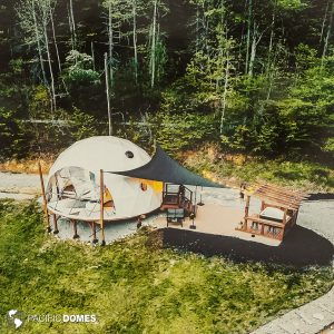 glamping, dome