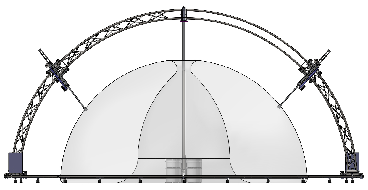 3D printed dome