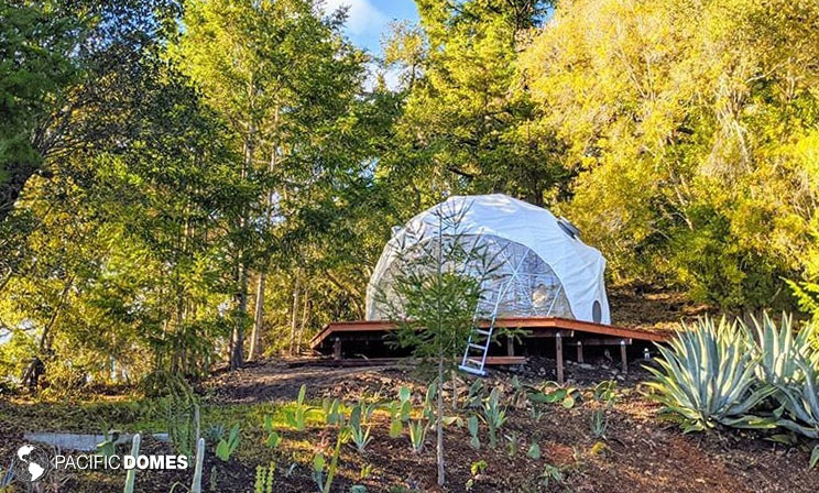 backyard dome, office dome, dome office