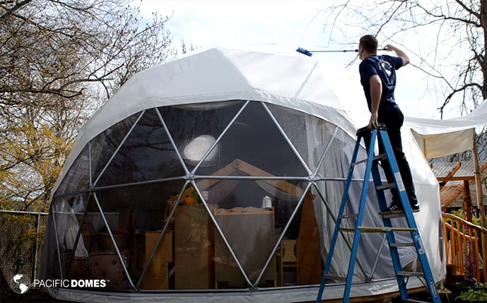 dome cleaning