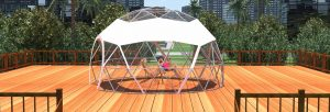 Sun Bathing Dome