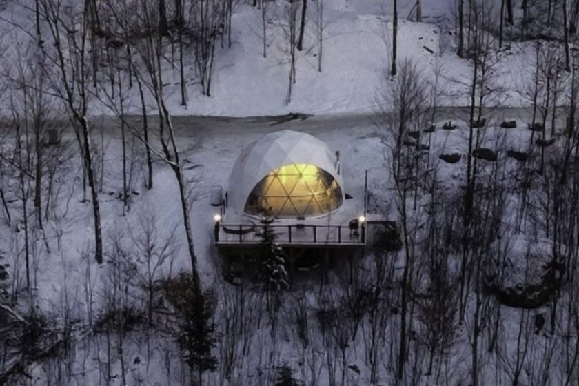 glamping domes, pacific domes 40 years in business