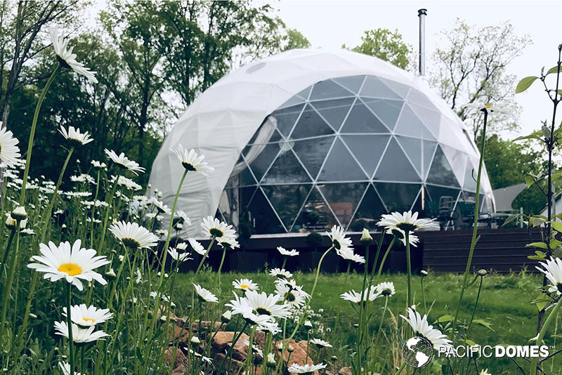 off-grid dome