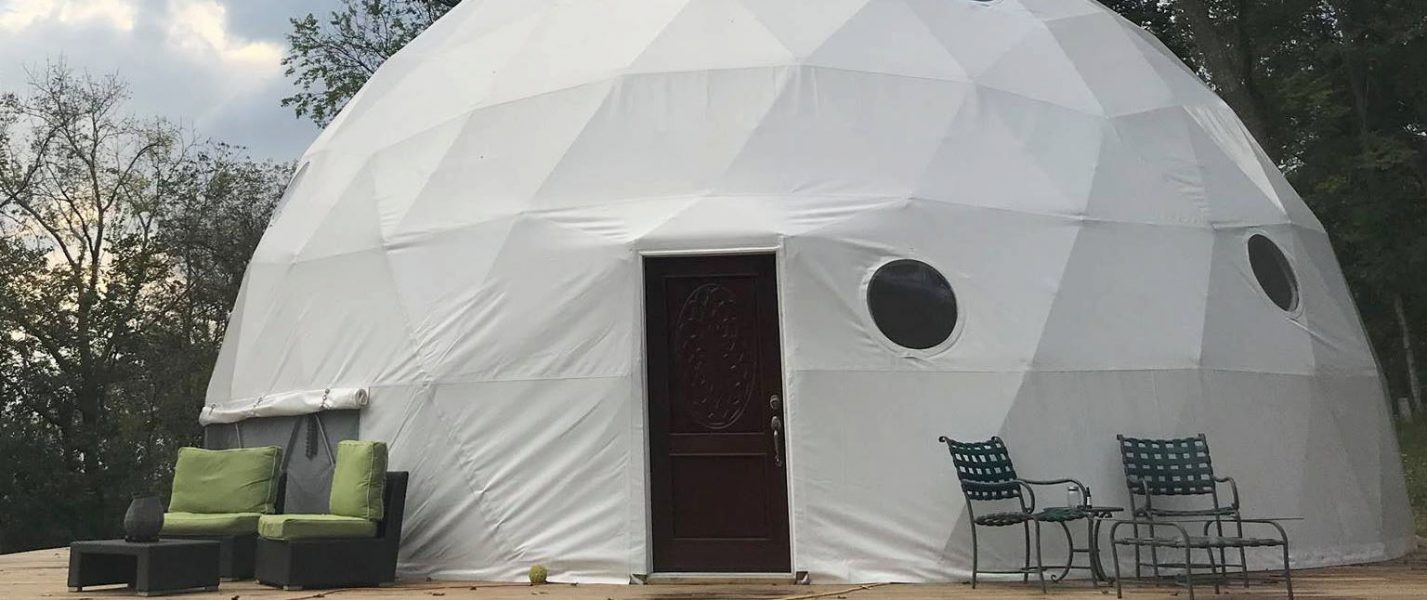 off-grid dome, off-grid living